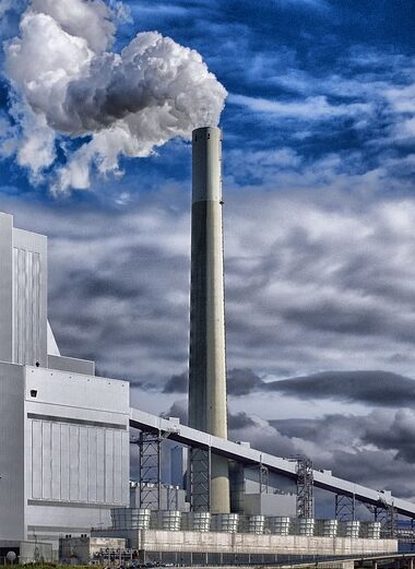 refinery, industry, steam